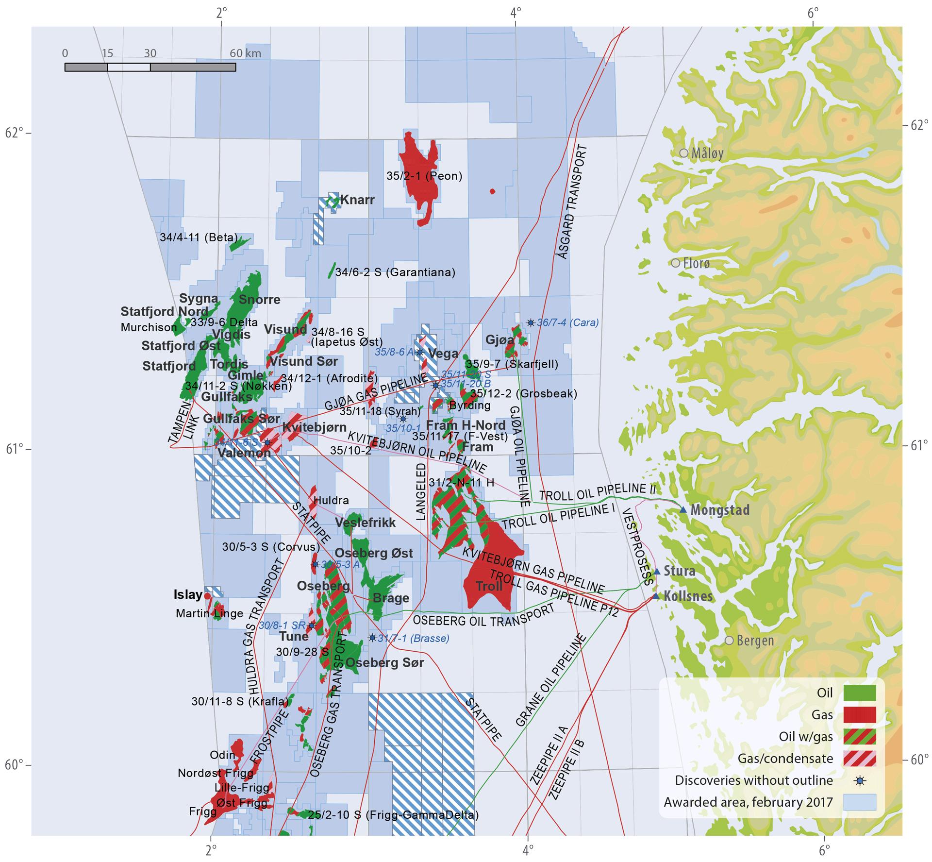 Polarkreis Alaska Karte.Norwegens Erdöl Der Anfang Vom Ende Einer ära Telepolis