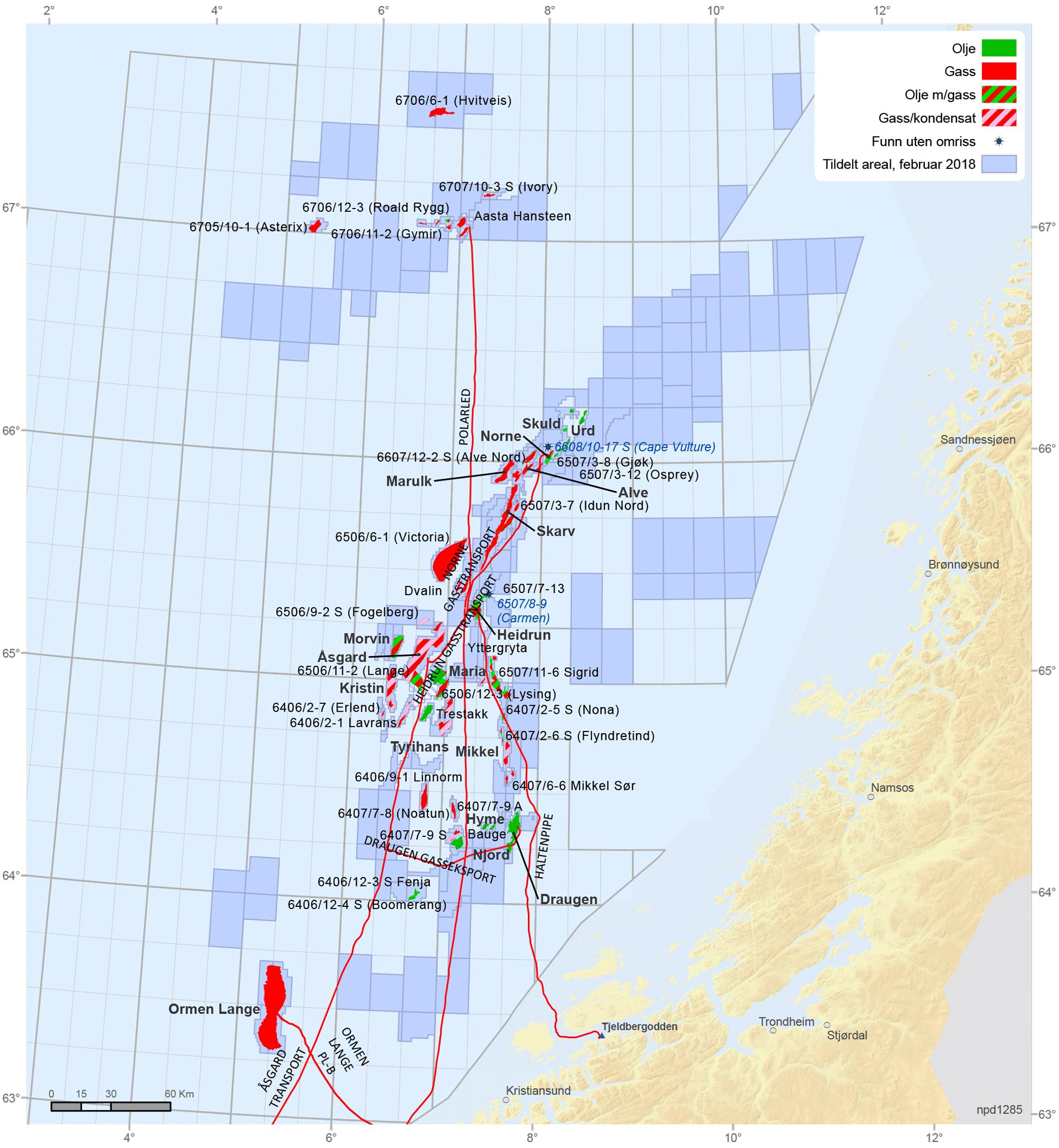 Felt og funn i Norskehavet