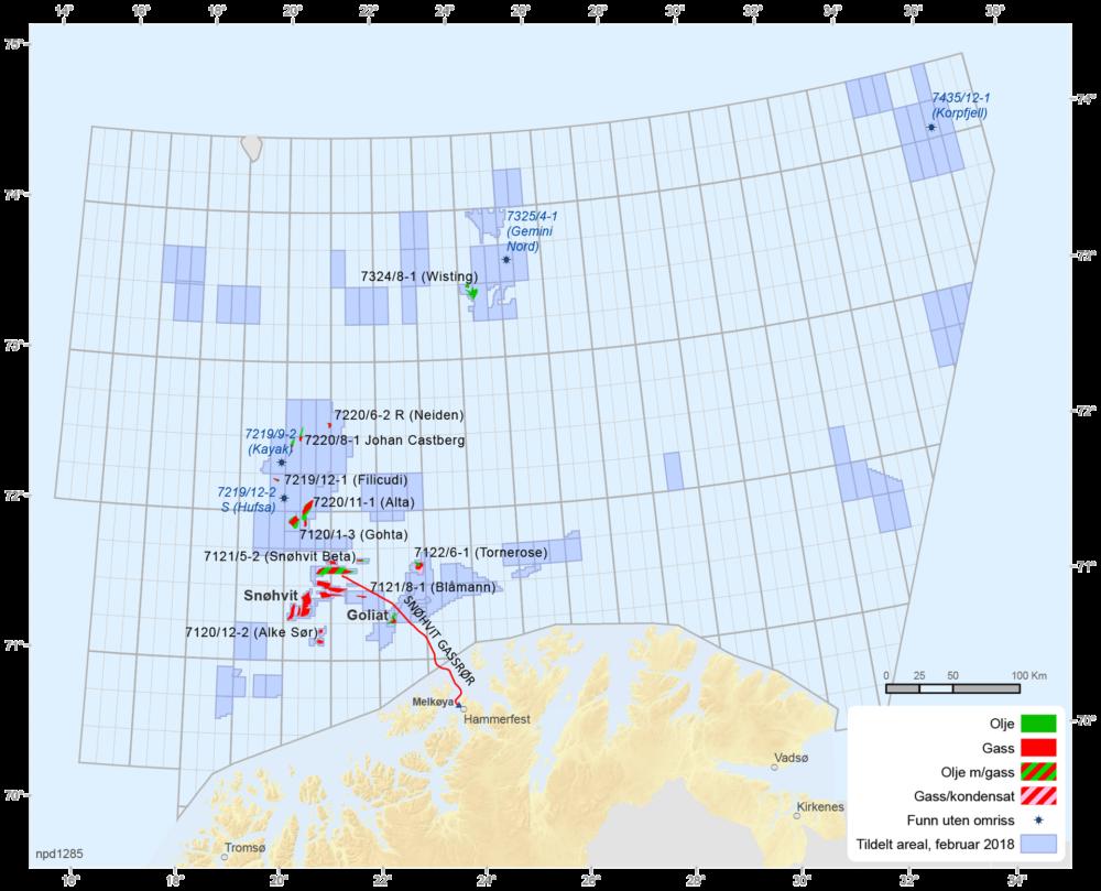 Felt og funn i Barentshavet