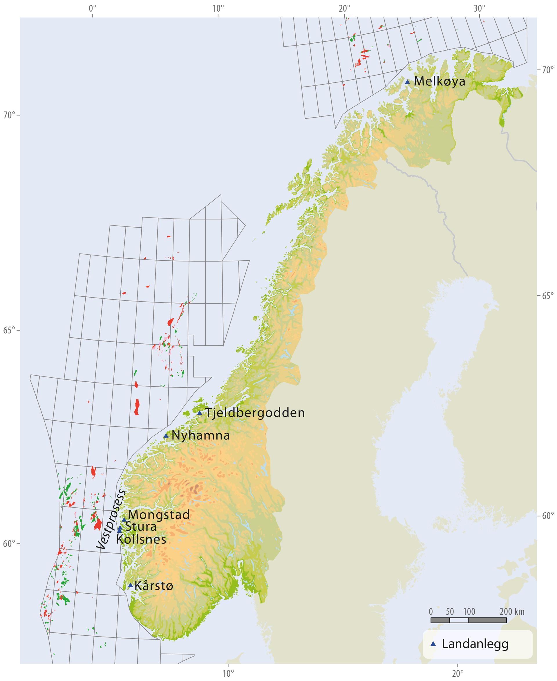 Landanlegg i Norge