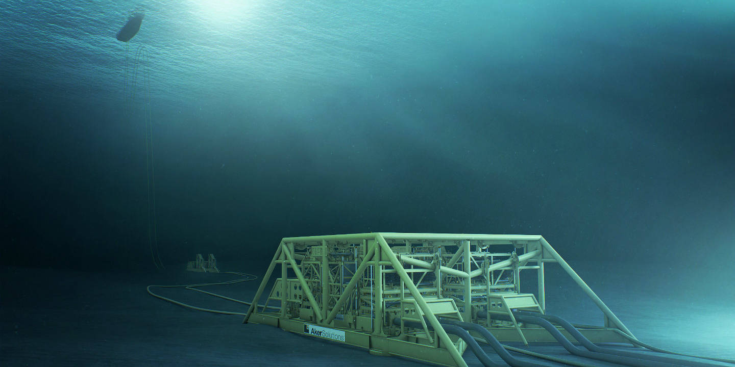 Subsea Field layout Aasgard