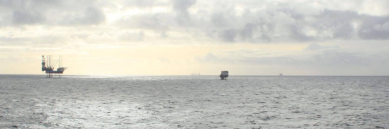 Bilde tatt fra Ekofisk Sør