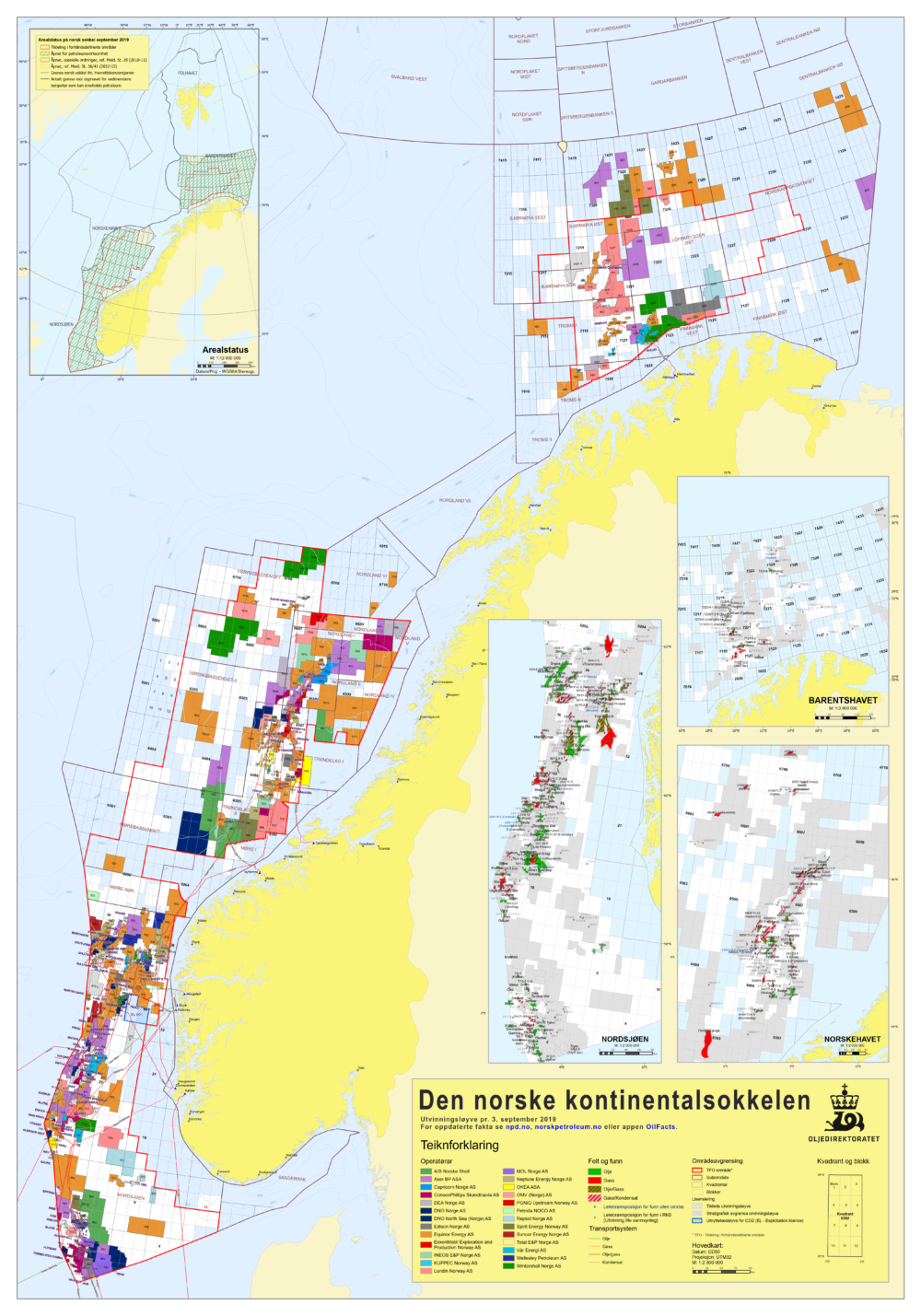Kilde / Source: Oljedirektoratet / Norwegian Petroleum Directorate