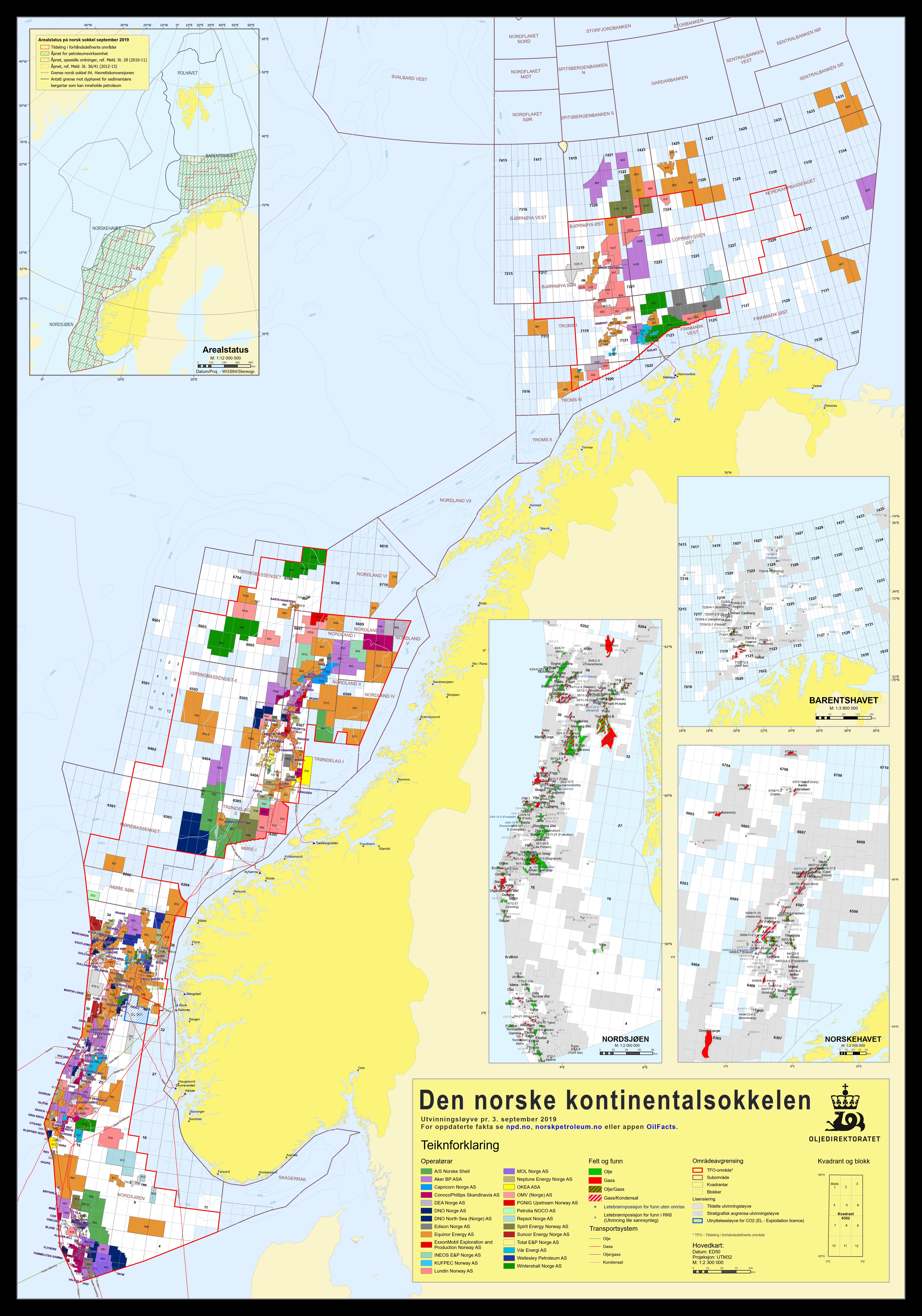 Kilde / Source: Oljedirektoratet / Norwegian Petroleum Directorate